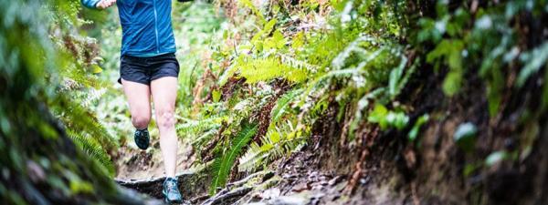 Runner at Point Defiance Park