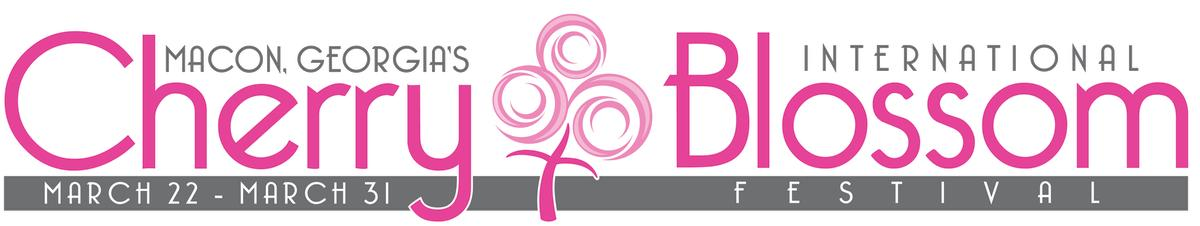 Cherry Blossom Logo Banner