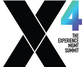 Qualtrics X4 The Experience Mgmt Summit logo