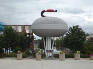 Arborg - World's Largest Curling Stone