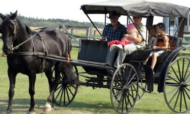 Mennonite Heritage Village in Steinbach, Manitoba.