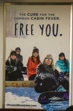 2017 Winter Co/Op - Transit - NJT Interior Cards - Pocono Mountains Visitors Bureau