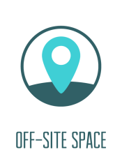 Off-site Space Icon