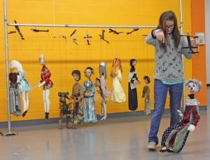 Schweinfurth marionette performance