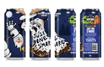 Brew Link Brewing Just One S'More (Photo courtesy of Brew Link Brewing)