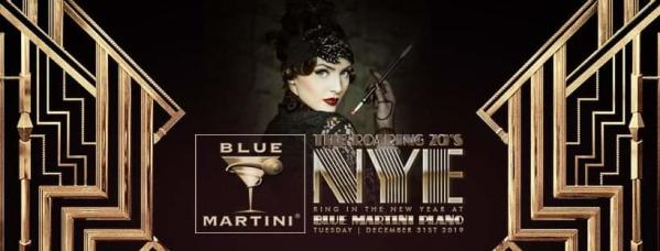 Blue Martini NYE Flyer