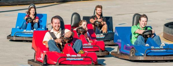 Broadway Grand Prix family riding go carts