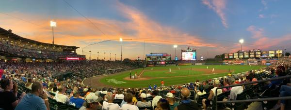 Sunset at Coca-Cola Park, Home of the IronPigs, Lehigh Valley, PA
