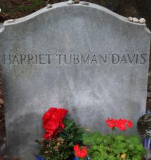 Harriet Tubman Gravesite at Fort Hill Cemetery