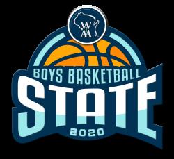 WIAA Boys Basketball 2020 logo