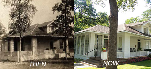 Heritage House Then and Now