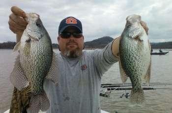 Pat Trammell, Weiss Lake Fishing Guide