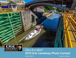 2019 Erie Canalway Photo Contest