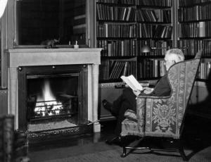 George Eastman reading