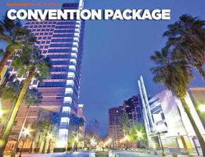 Sacramento Convention Package Brochure Cover