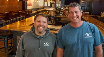 Erik Bevans and Tom Hughes