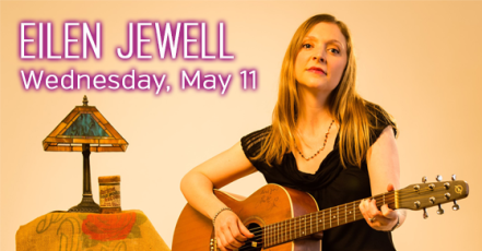 poster image of Elien Jewell one of the peformers at the 2016 Rochester Lilac Festival
