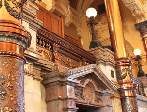 Senate Chamber close up