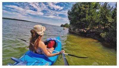 Lake McMurtry kayaking