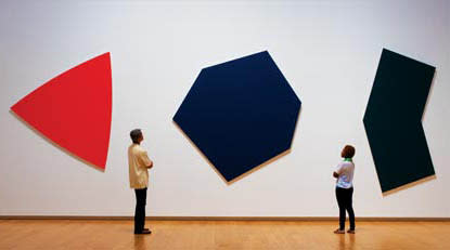 Modern Art Shapes