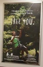 2016 Spring/Summer Co/Op - Interior Rail Cards - NJ Transit - Pocono TreeVentures