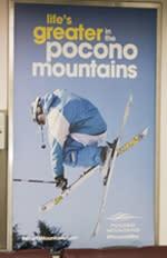 Winter 2015/16 - Transit - Interior Rail Cards - Pocono Mountains Visitors Bureau