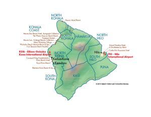Island of Hawaii - MCI Map