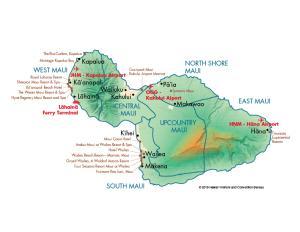 Maui - MCI Map