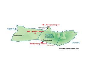 Molokai - MCI Map
