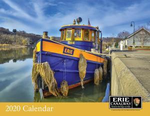 Erie Canalway 2020 Calendar