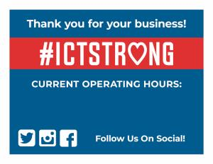 ICTStrong Operating Hours COVID