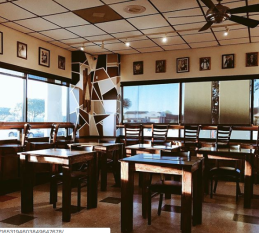 Lupa's Coffee seating in Bryan College Station