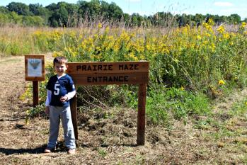 The annual McCloud Nature Park Prairie Maze opens on Saturday!