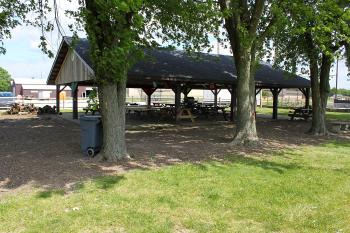 Northwest Park has a picnic shelter and campfire area.