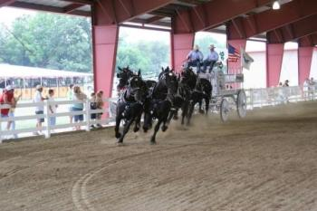 Impressive showmanship and entertainment at the Hendricks County 4-H Fair