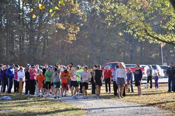 Fall Colors Run at McCloud Nature Park