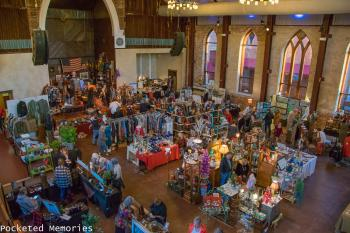 Holiday Flea Market at the Brooklyn Arts Center at St. Andrews in Wilmington