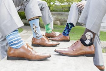 Groomsmen's socks | Erika Brown Photography