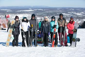 Winter Fun at Blue Mountain Resort