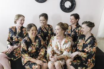 Bridesmaids at at Wedding | ErikaBrownPhotography.com