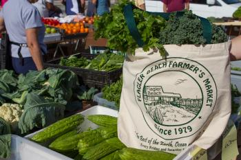 Produce at Flagler Beach Farmers Market