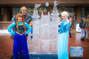 Frozen at HBG's Ice & Fire Festival