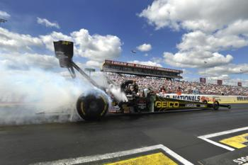 Get an early look at some of the dragsters at The Big Go Block Party!