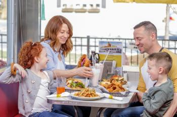 Bring the whole family to the Oasis Diner.