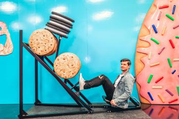 Cheat Day Land Cookies & Oreos Leg Press