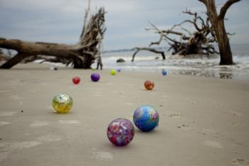 "Participate in ""Island Treasures,"" a hunt for glass floats on Jekyll Island in the wintertime"