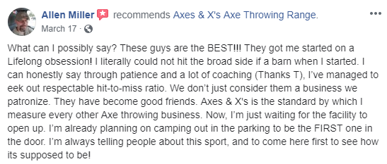 Axes-Xs-Review
