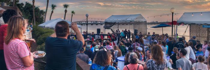 Greek Festival in Daytona Beach on the Halifax River