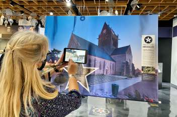 D-Day: Freedom from Above Interactive Exhibit
