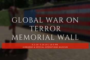 Global War on Terror Memorial Wall